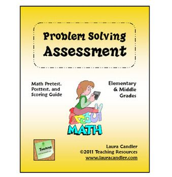 Problem solving assessment freebie includes 4 levels of math word problem solving assessment freebie includes 4 levels of math word problem assessments students are required to show their work answer keys included fandeluxe Image collections