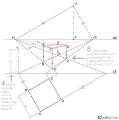 Perspectiva Conica Oblicua Tecnicas De Desenho Desenhos De Arquitetura Geometria Descritiva