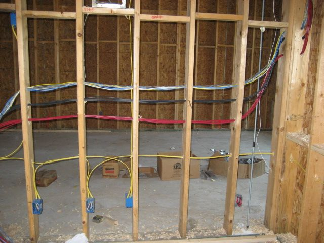 New Construction Audio Video Wiring | Gallery | Construction ... on