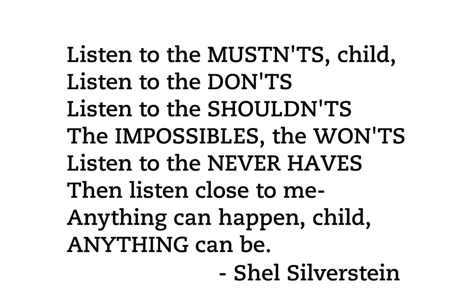 Shel Silverstein Wall Decal: Pin By Cara Cooley On Inspiration Can Be Found Anywhere