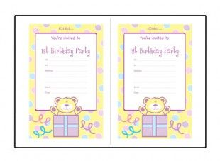 Visit IChildcouk For Lots More Birthday Ideas Ages 1 11 Years 3 Year Old Party Invitation Wording