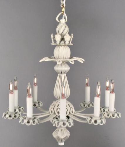 Dollhouse Miniature Lighting Electrical Chandelier 034 Scarlet 034