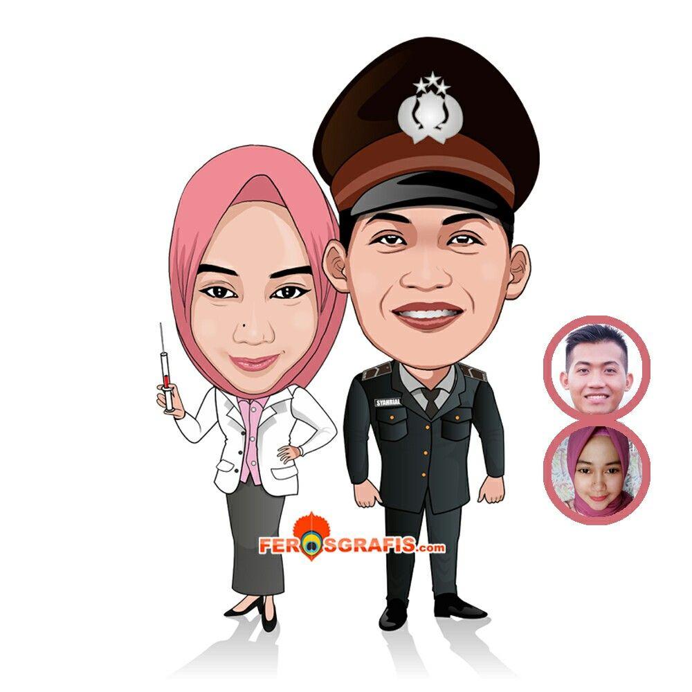 Pin di Digital Caricatures