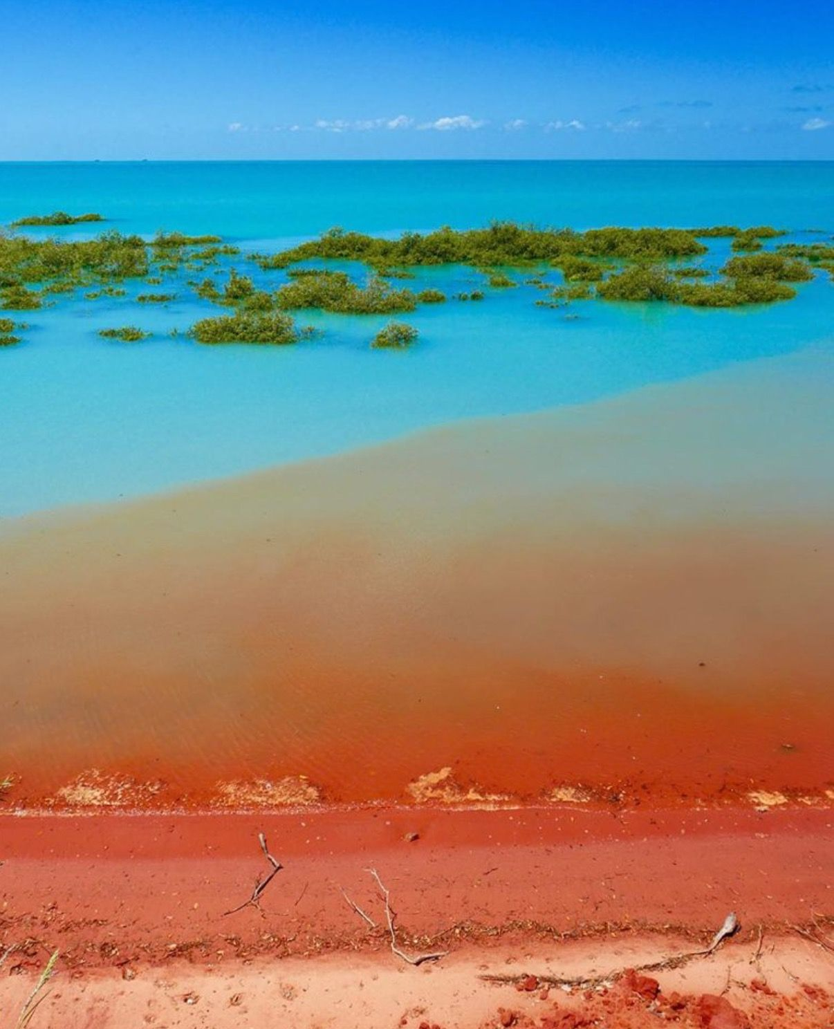 the colours of broome western australia image of town beach by the rh pinterest de