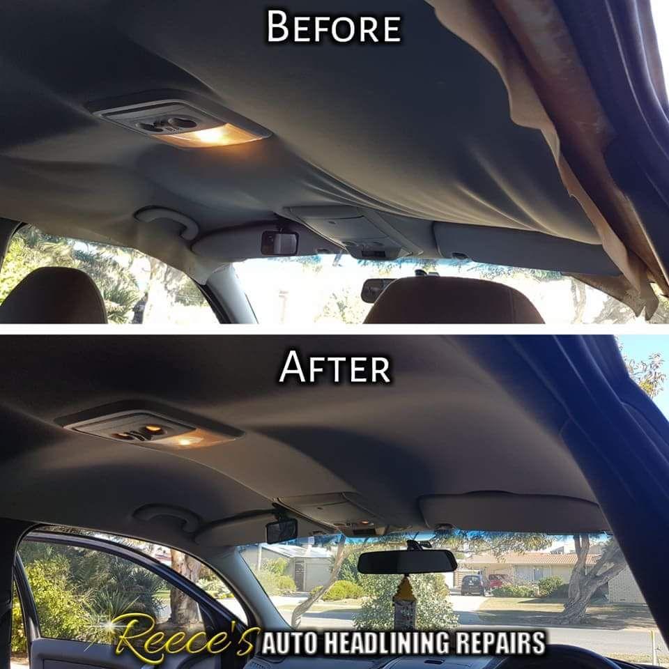 Ford Territory Wagon Sagging Headliner Headlining Roof Lining Repair Adelaide Mobile Car Hoodlining Headliner Repair Car Interior Upholstery Roof Repair