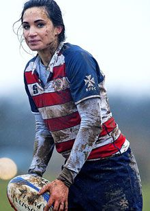 Laura Wright #rugby #woman
