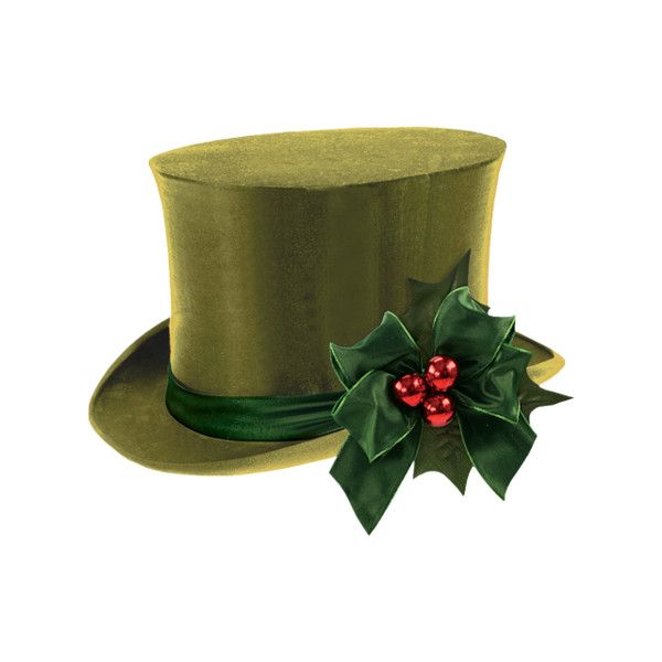 christmas top hat clip art