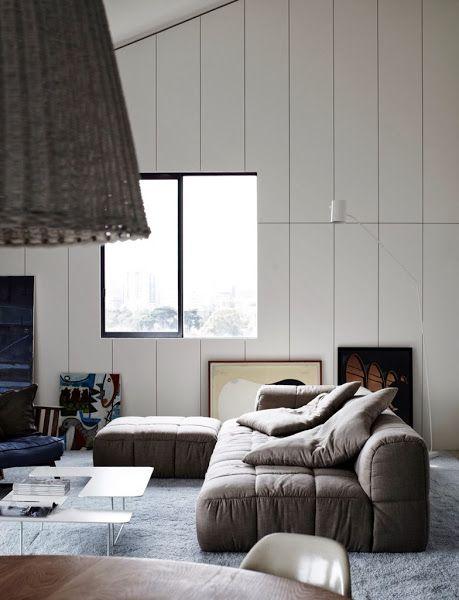 A dark and cozy winterhome