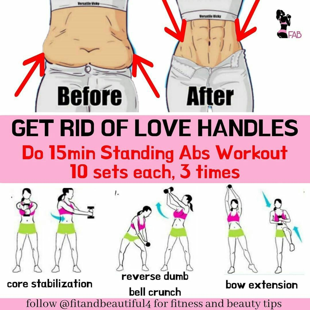 Get Rid Of Love Handles Love Handles Fitness And Beauty Tips Fitness Beauty