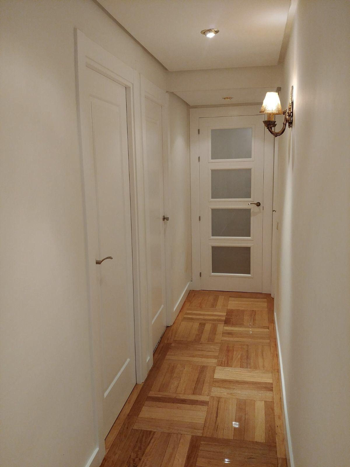 Ltima instalaci n puertas san rafael modelo 9100ar - Pintar puertas de madera en blanco ...