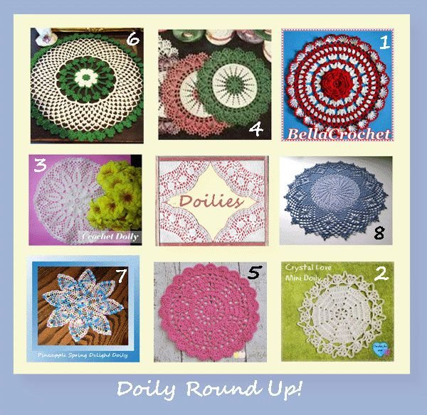 www.crochetmemories.com/blog A doily round up of patterns you\'ll ...
