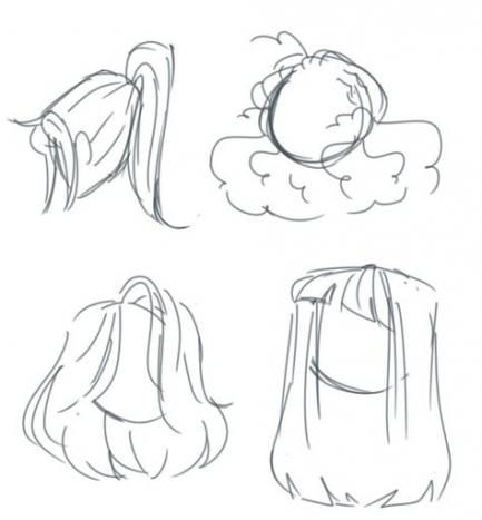 Photo of New drawing reference hair animation Ideas