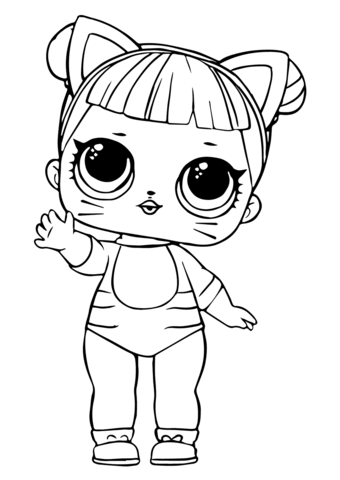 new coloring pages lol dolls free  cat coloring page cute coloring pages animal coloring pages