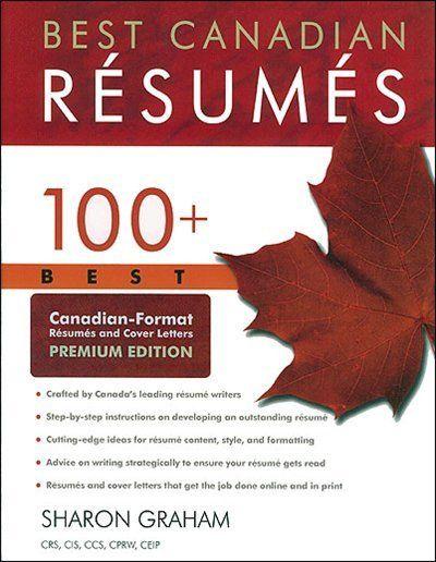Best Canadian Résumés 100 Best Canadian-format Résumés and Cover - consulting cover letters