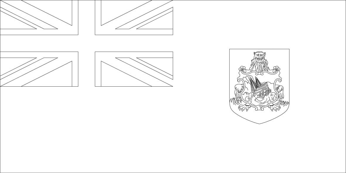 Bermuda Flag Coloring Pages Bermuda Flag Coloring Pages