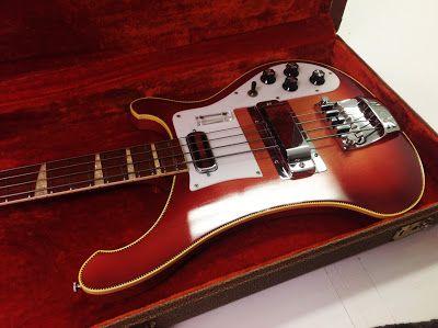 Info - Vintage Guitarz: 1971 Rickenbacker 4001 Bass