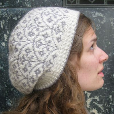 Selbu Modern A beautiful traditionally inspired Fair Isle beret ...