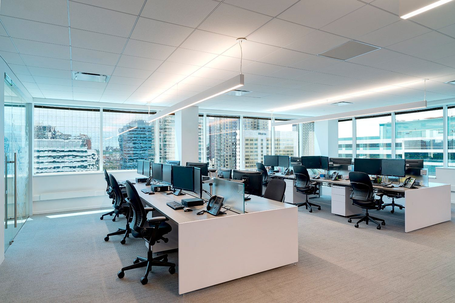 open office architecture images space. Office Tour: Conifer Financial Services Offices \u2013 Jersey City. City OfficeOpen OfficeOffice SpacesArchitecture Open Architecture Images Space