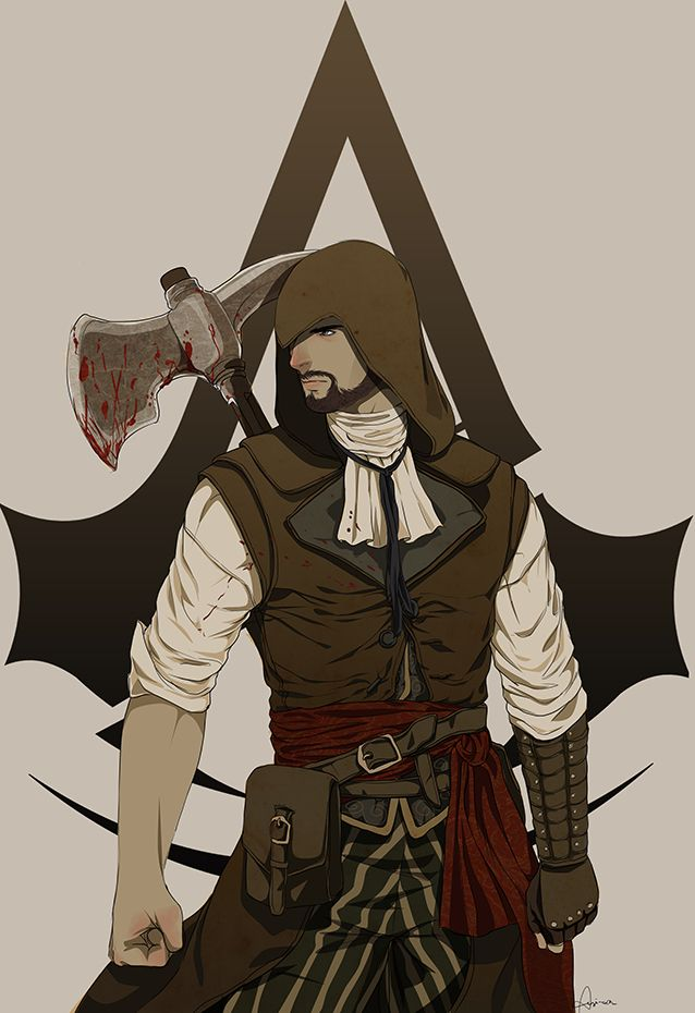 Axe Man Assassian Creed Assassins Creed Art Assassins Creed