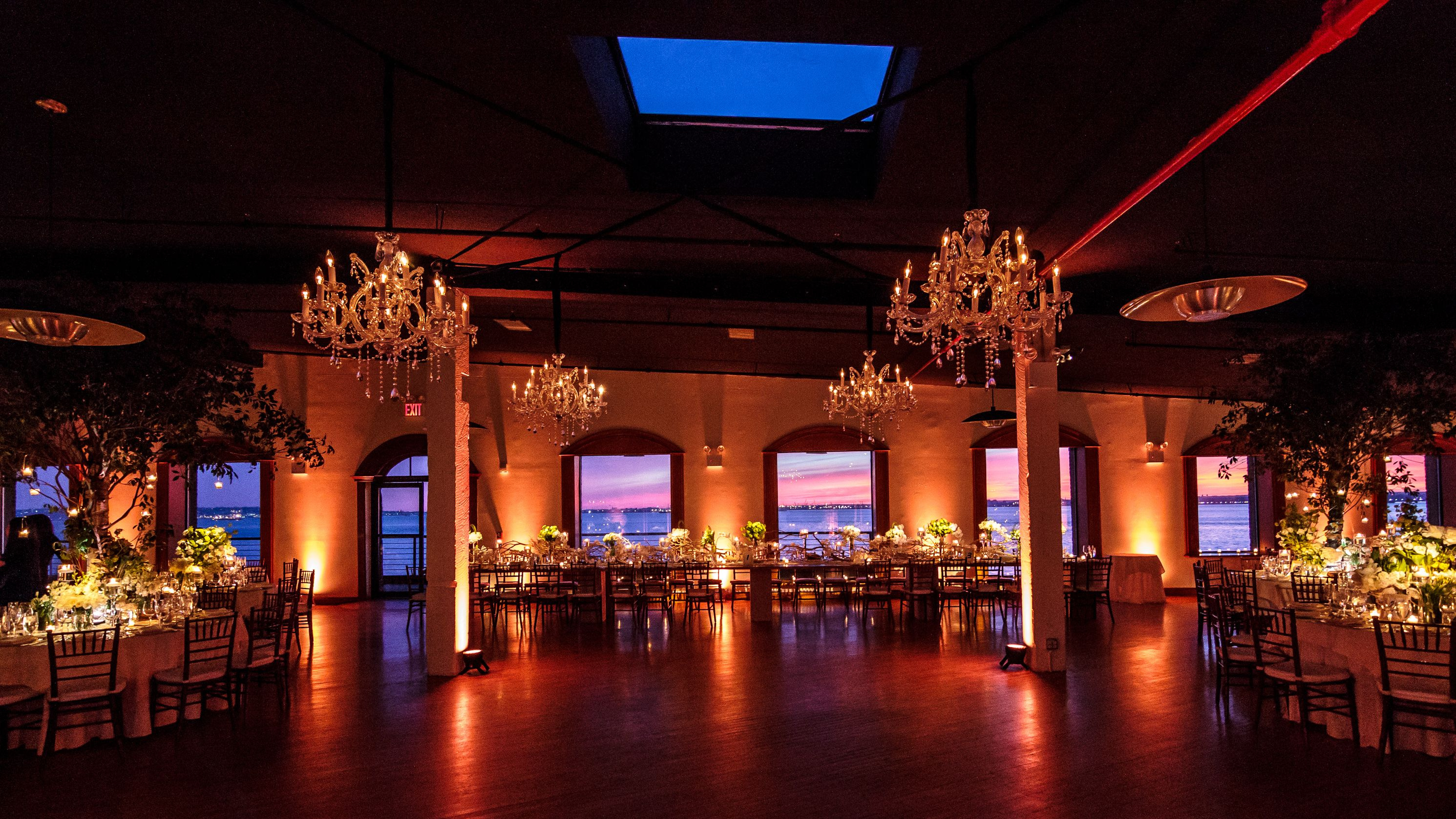 The Liberty Warehouse Governors Room. Lighting by Pegasus