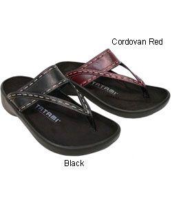 Birkenstock Tatami Women's Leather Sandals | Overstock.com Shopping - Great Deals on Birkenstock Sandals
