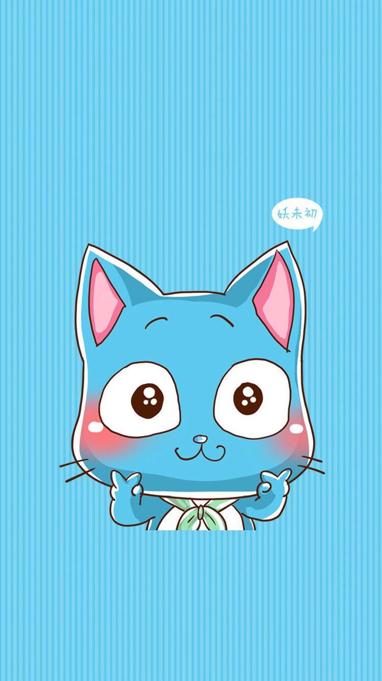 Happy Fairy Tail Fairy Tail Happy Fairy Tail Anime Fairy Tail Cat