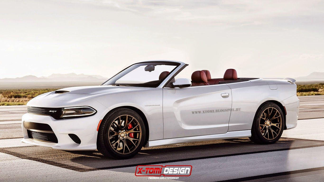 X tomi design dodge charger srt hellcat convertible