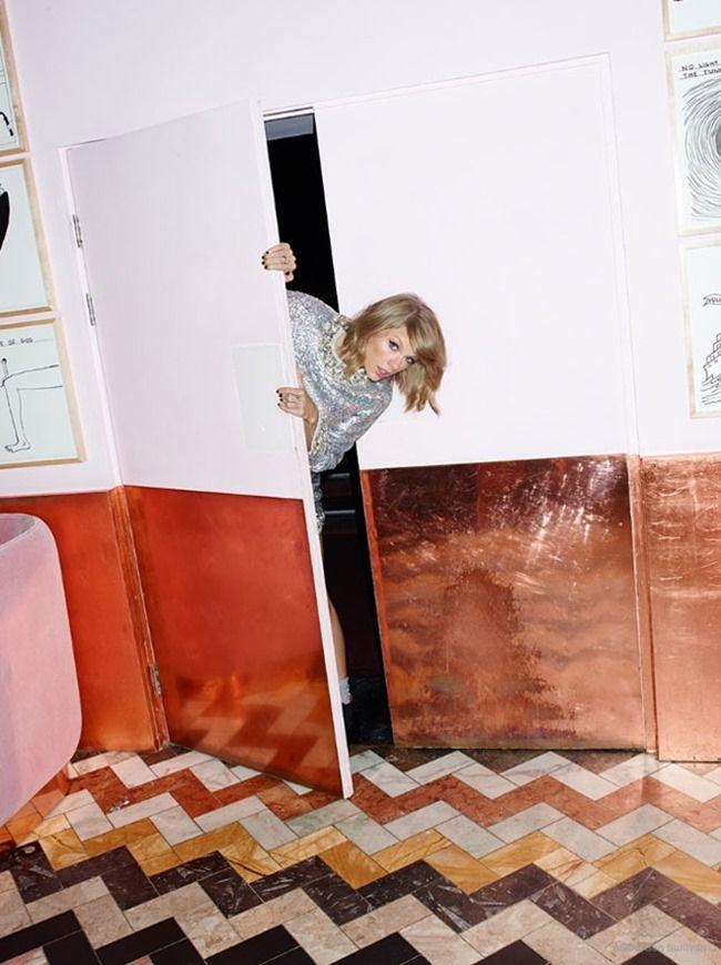 ASOS MAGAZINE Taylor Swift by Ben Sullivan. Zeba Lowe, January 2015