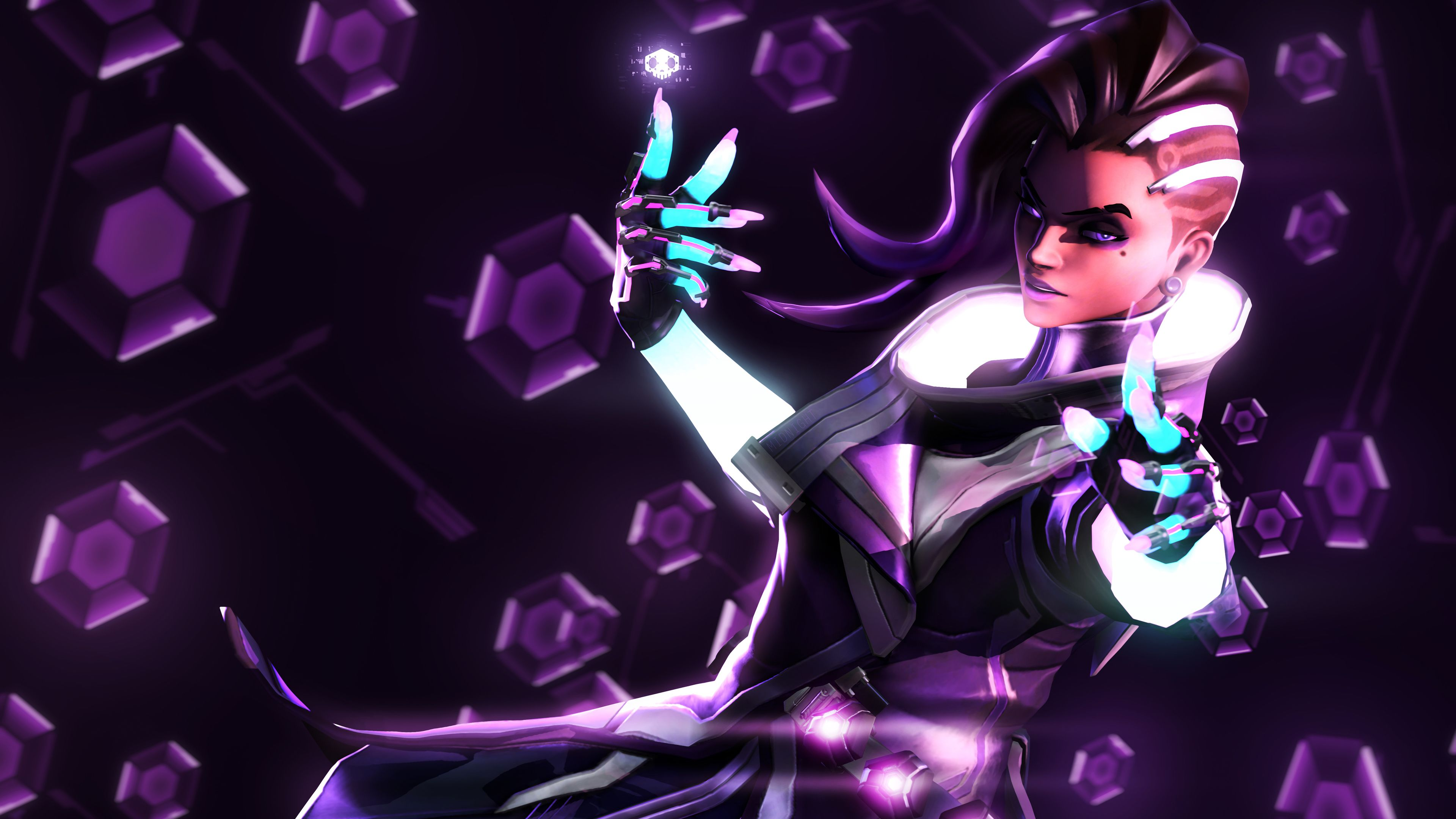 Wallpaper 4k Sombra Overwatch Artwork 4k 4kwallpapers