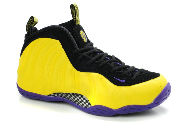 nike air foamposite one lakers customs 314996 019 foampostites rh ar pinterest com