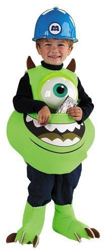 Description Heu0027ll join the cast of Monsters Inc. this Halloween as Mike Candy Catcher. The Mike Candy Catcher Costume includes a green printed flannel a  sc 1 st  Pinterest & Monsters Inc Mike Wazowski Costume | Halloweeny fun | Pinterest ...