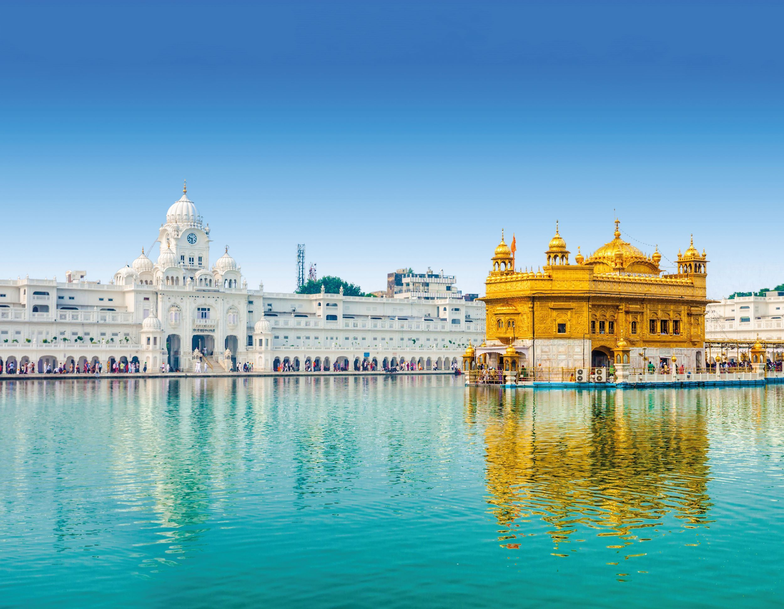 The Harmandar Sahib Is Called The Golden Temple Because It Is Plated With Gold It Is The Preemine Golden Temple Amritsar Golden Temple Golden Temple Wallpaper Desktop golden temple hd wallpaper for