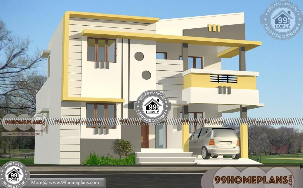 30 40 House Plans With Car Parking With New Model House Design In Kerala Style 2 Floor 3 Duplex House Design Small House Elevation Design 30x40 House Plans