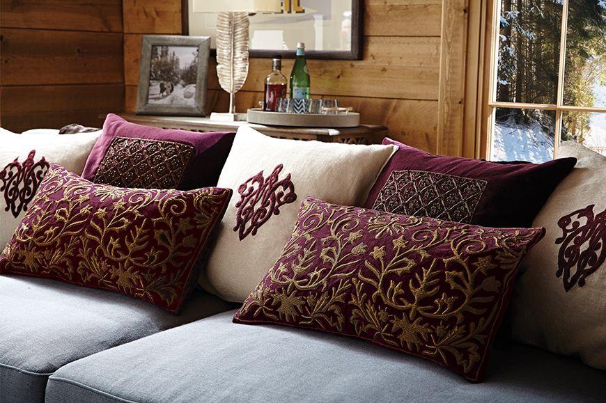 How To Arrange Your Cushions Sofa Or Bed Oka