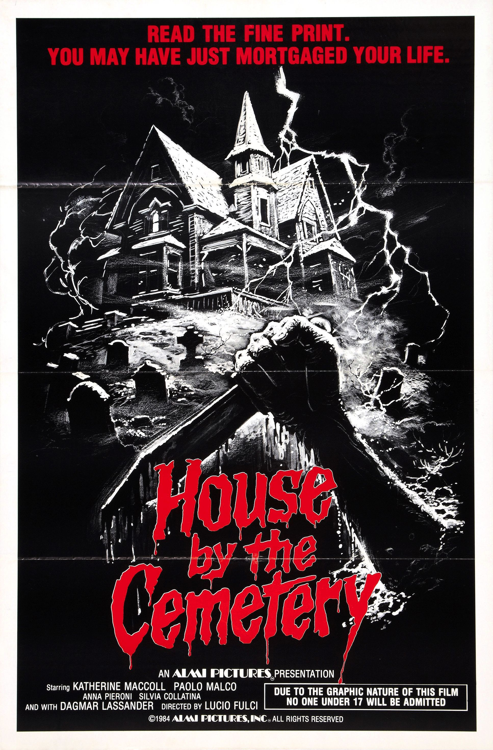 House By The Cemetery Horror Movies Horror Movie Art Horror Movie Posters