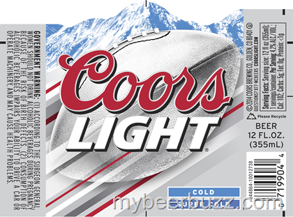 Mybeerbuzz Com Bringing Good Beers Good People Together Coors Light Score The Silver Seats Contest Comin Coors Light Beer Can Beer Can Scores