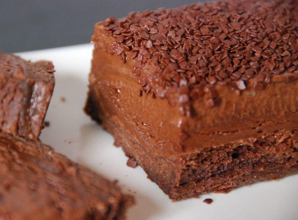 """gâteau g"""", gateau au chocolat mi cru mi cuit - half baked"""