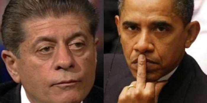 Alert Judge Napolitano Obama Wiretapped Trump Without A Warrant