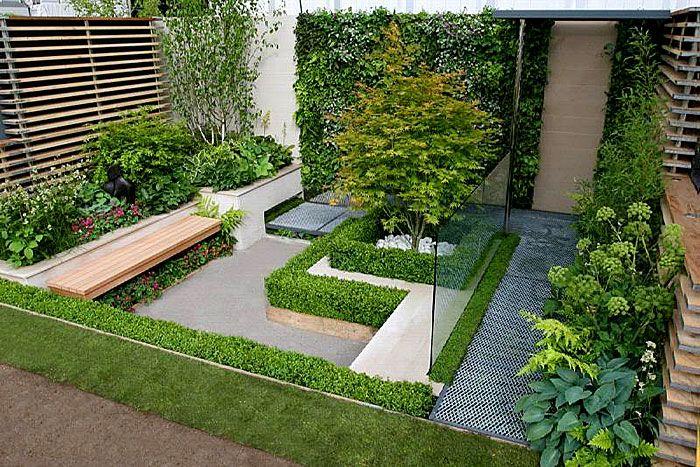 jardin japonais 30 id es pour cr er un jardin zen japonais petit jardin zen petits jardins. Black Bedroom Furniture Sets. Home Design Ideas