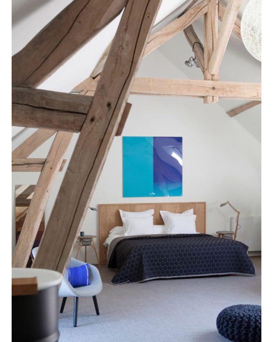 32+ Chambre avec poutres peintes inspirations
