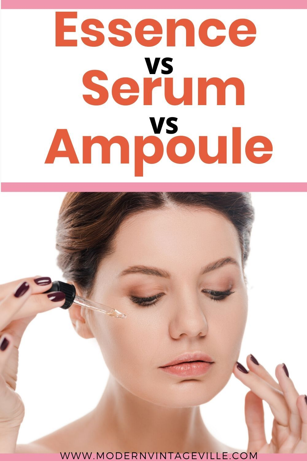 Difference Between Essence Serum And Ampoule Skin Essence Best Skin Care Routine Skin Care Routine