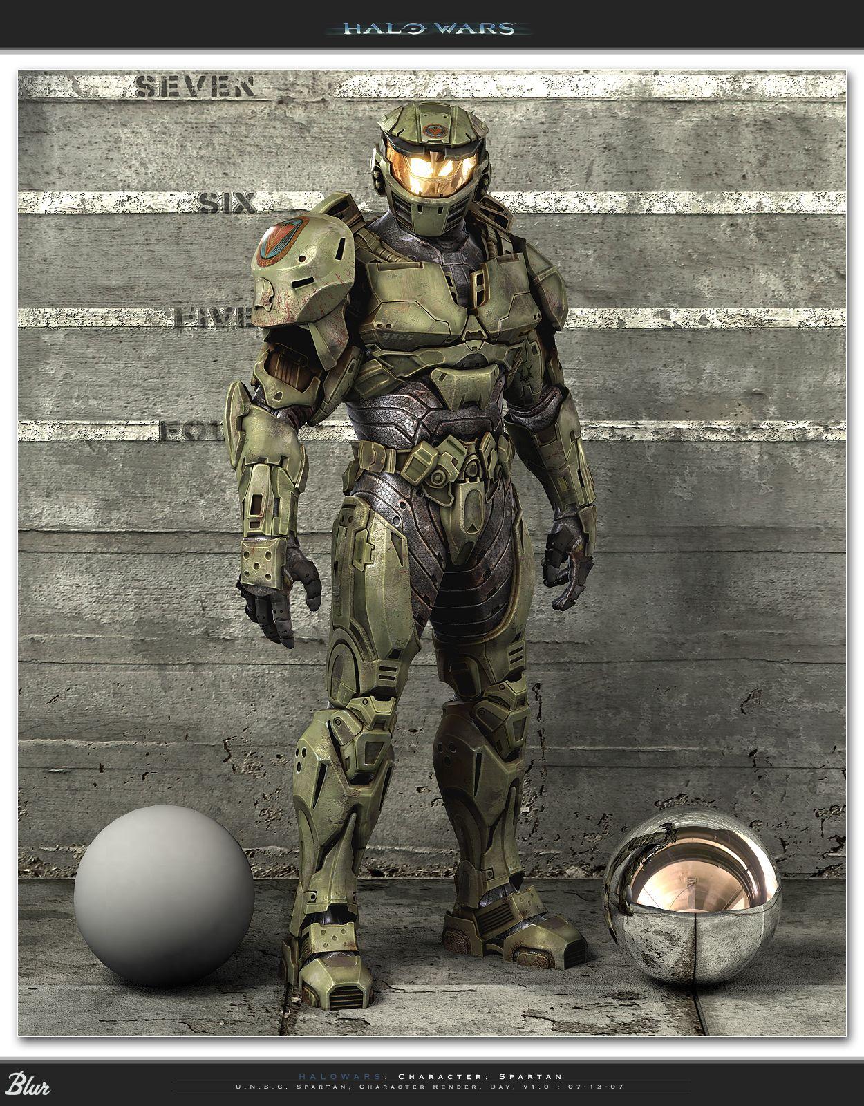 halo wars spartan | Halo wars spartan.jpg - Halo Nation — The Halo encyclopedia - Halo ...