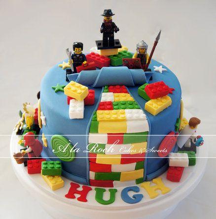 lego design for cake Boys Lego Cake  Geburtstagskuchen für jungen, Lego