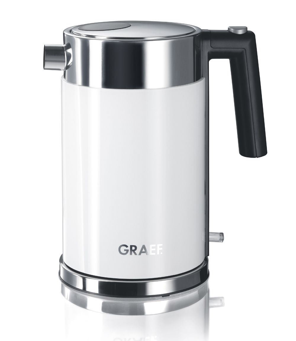 German Made, Graef White Electric Kettle At CookInStyle.co.uk   WK61UK