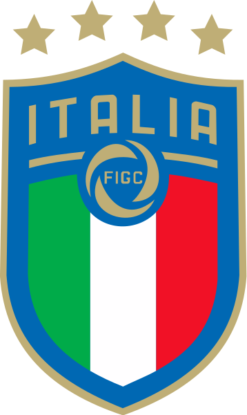 358px Figc Logo 2017 Svg Png 358 600 Pixels Italy National Football Team Football Team Logos National Football Teams
