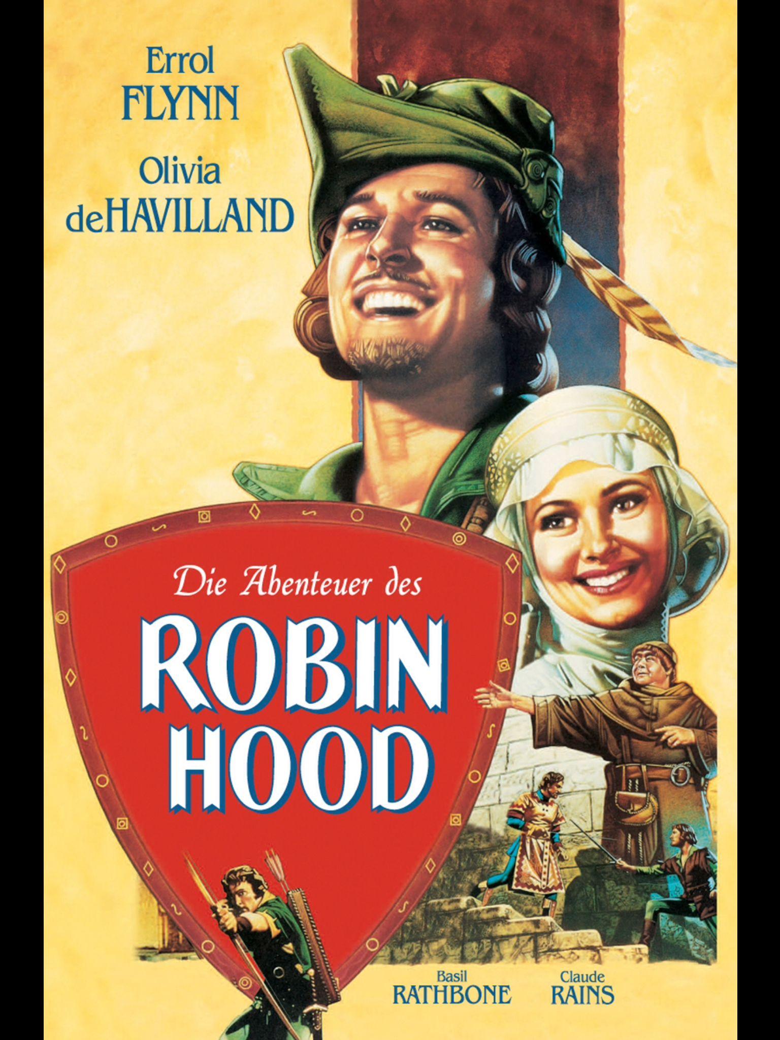 Robin Hood Robin Hood Olivia De Havilland Errol Flynn