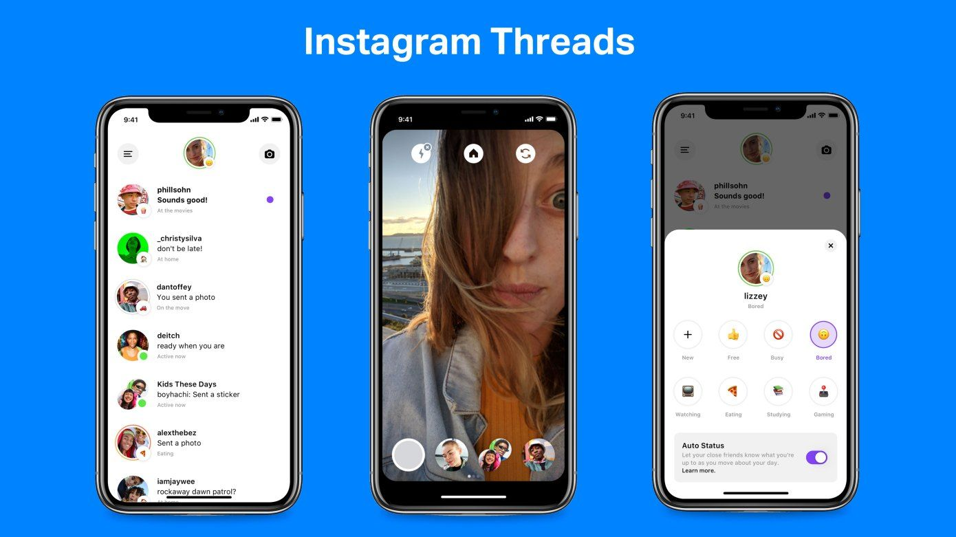Instagram launches Threads, a Close Friends chat app with