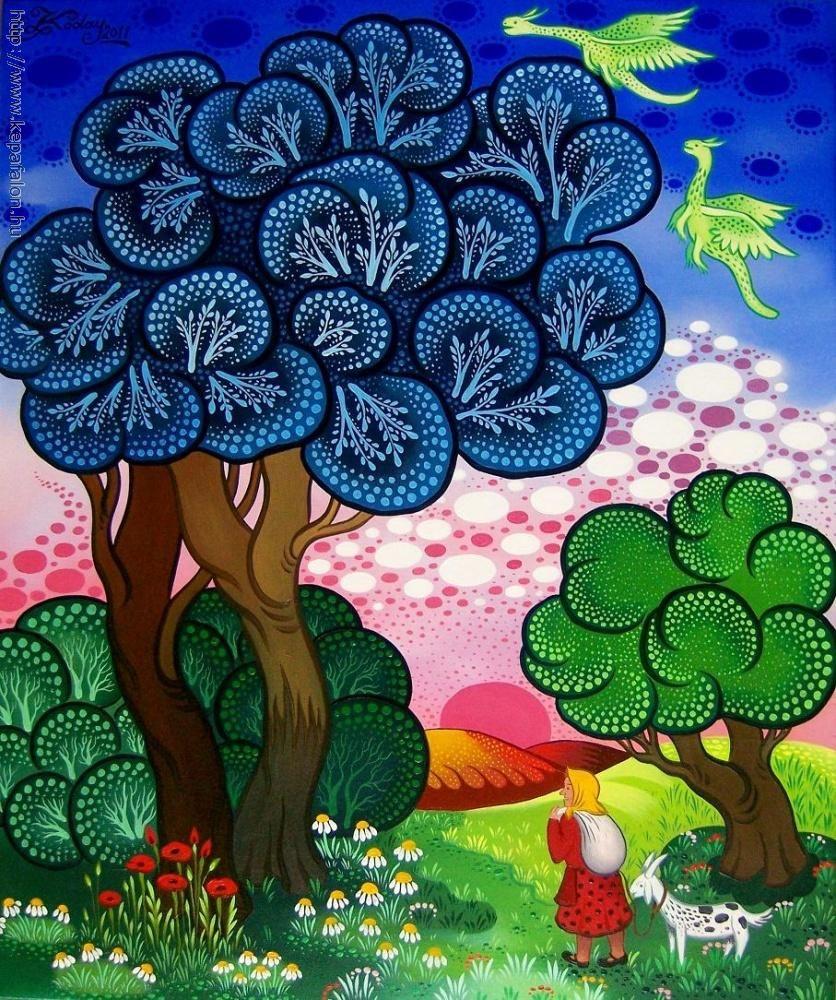 Hungary ~ Laszlo Koday ~ Under Large Trees