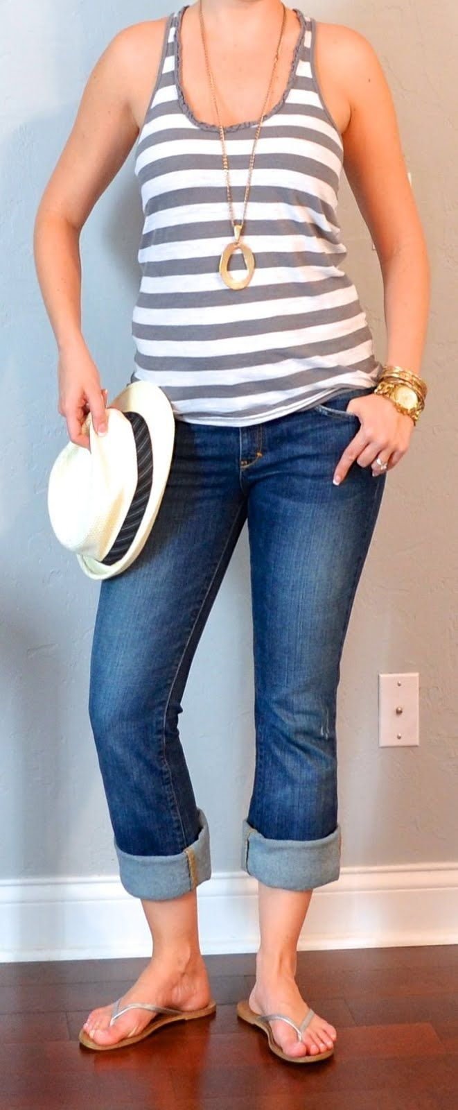 Outfit Posts: (outfit 20) one suitcase: beach vacation capsule wardrobe