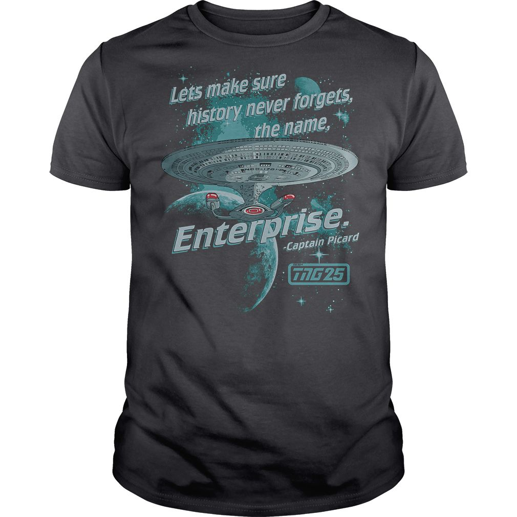 29432f379c Star Trek Never Forget t shirt for guys